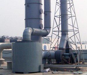 太阳能电池板酸雾处理工程,酸洗硅片黄烟酸废气净化工程