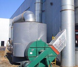 WGL--3型活性炭有机废气净化器(油漆废气处理,印刷厂废气处理设备)