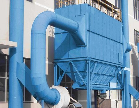 WMC-2型气动反吹风清灰布袋式除尘器