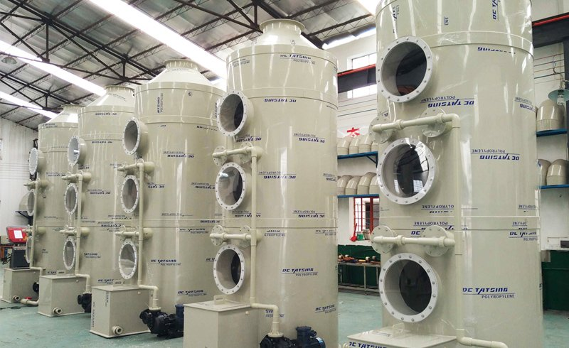 WGL-2型湿法多功能废气净化塔