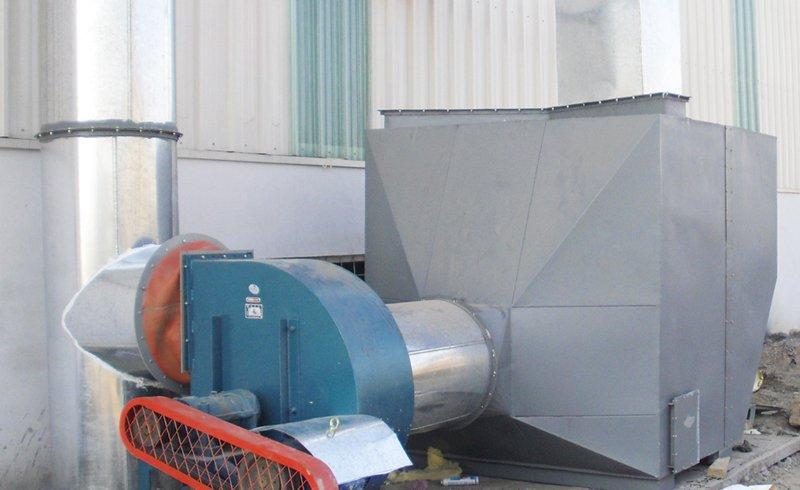 WT-3型活性炭吸附漆雾有机废气净化器